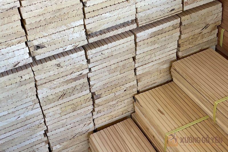 Ứng dụng của gỗ bạch tùng trong xây dựng nhà yến