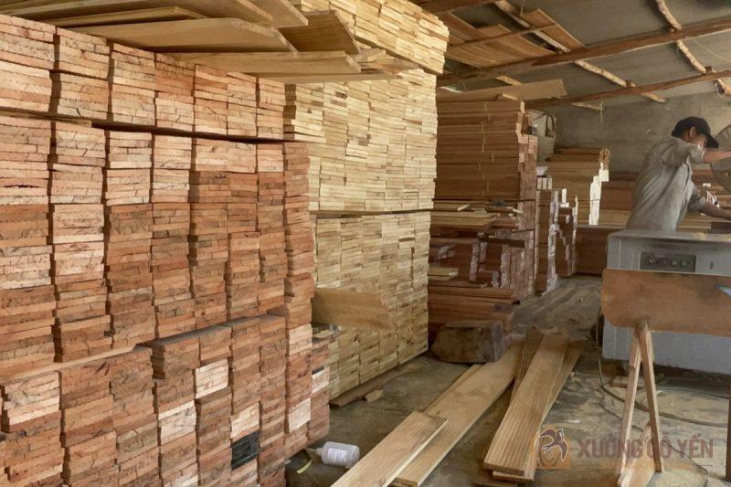 cung cấp các loại gỗ nhà yến